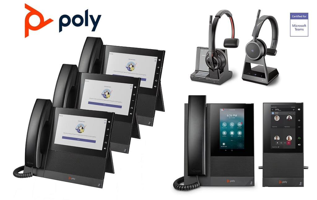 Poly Hardware Certified for Microsoft Teams