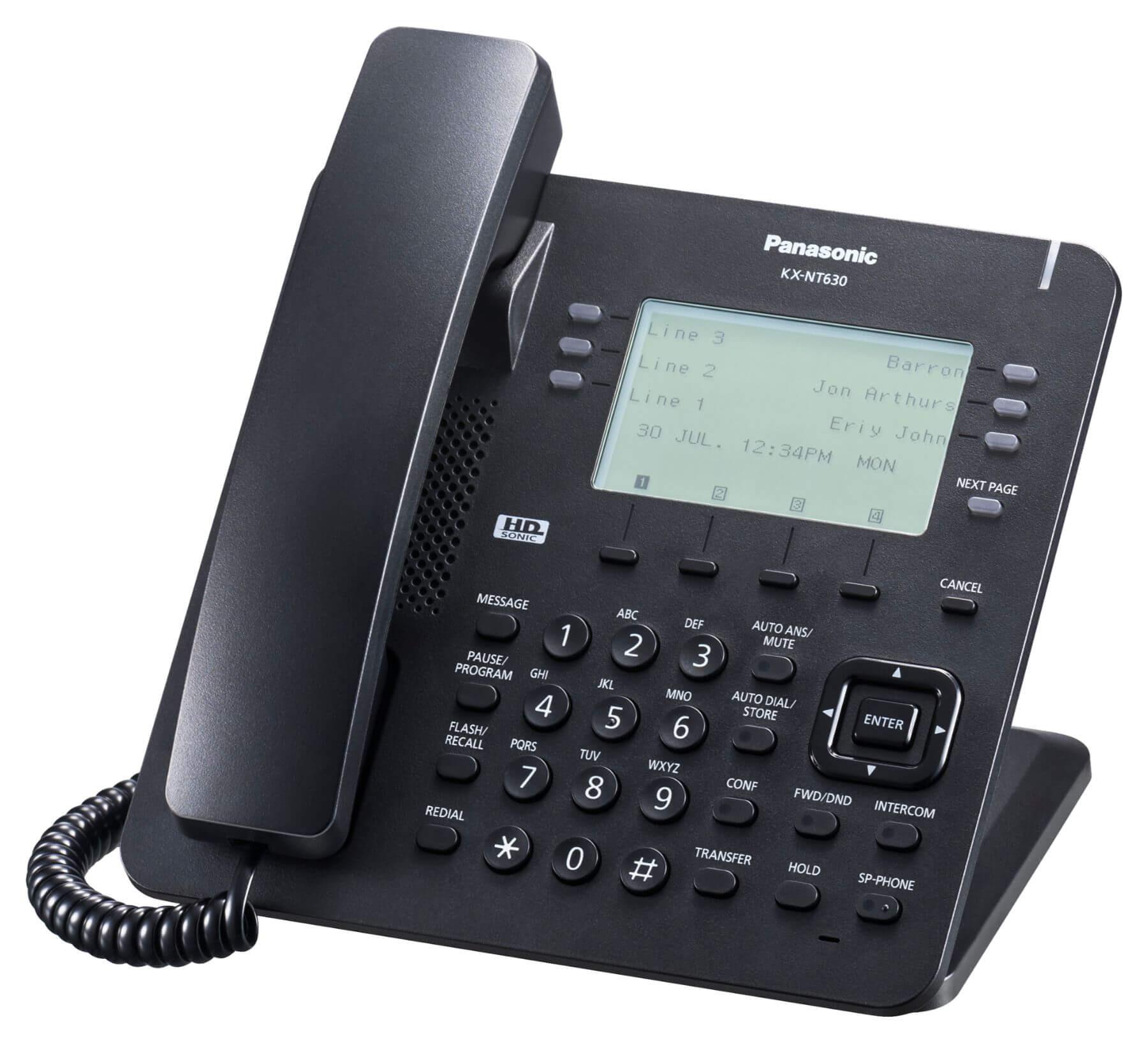 Panasonic KX-NT630 IP Phone Image