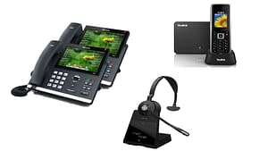 Cloud handsets - active business packages