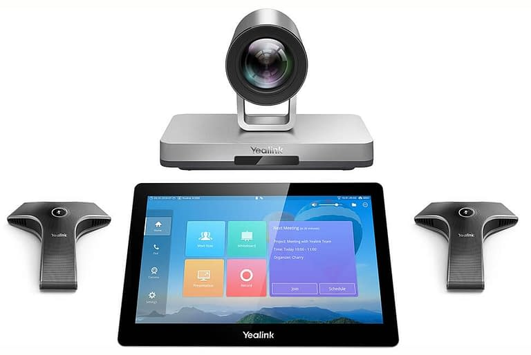 Yealink VC800 system with touchscreen