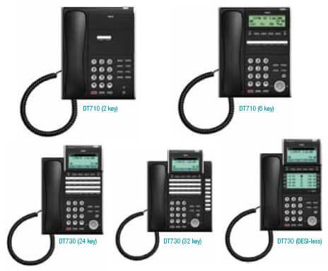 NEC DT700 Series Business Phones
