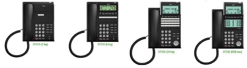 NEC DT310 Series Phones