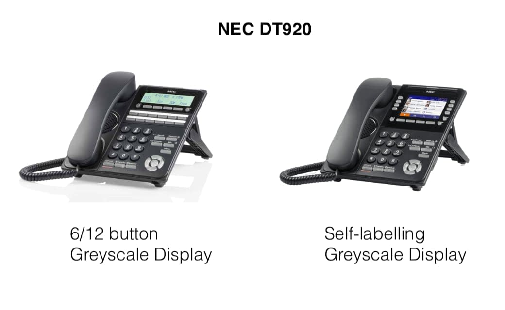 NEC DT920 Phone Series